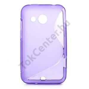 HTC Desire 200 Telefonvédő gumi / szilikon (S-line) LILA