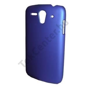Huawei Ascend G300 (U8815) Műanyag telefonvédő gumírozott KÉK