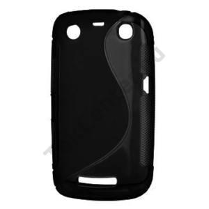 BlackBerry 9360 Curve Telefonvédő gumi / szilikon (S-line) FEKETE