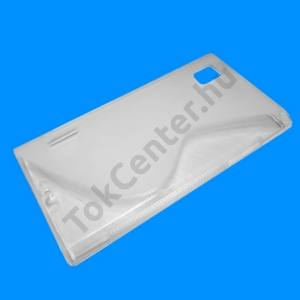 LG Prada 3.0 (P940) Telefonvédő gumi / szilikon (S-line) ÁTLÁTSZÓ