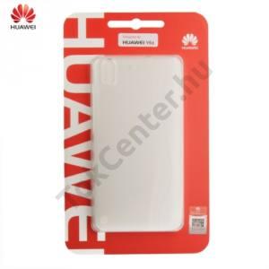 Huawei Y6 II (Y6-2) Műanyag telefonvédő (ultravékony, 0.8 mm) ÁTLÁTSZÓ