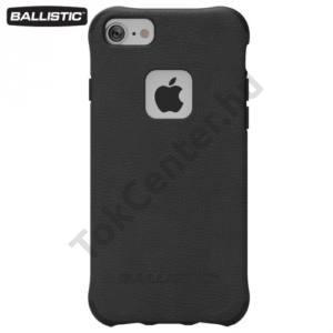 Apple iPhone 6 4.7`` / 6S 4.7`` / iPhone 7 BALLISTIC URBANITE műanyag telefonvédő (gumi / szilikon belső, 180 cm-ig ütésálló) FEKETE
