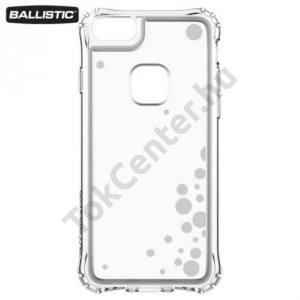 Apple iPhone 6 4.7`` / 6S 4.7``  / iPhone 7 BALLISTIC JEWEL műanyag telefonvédő (szilikon keret, 180 cm-ig ütésálló, buborék minta) ÁTLÁTSZÓ/EZÜST