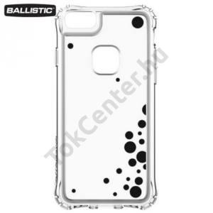 Apple iPhone 6 4.7`` / 6S 4.7`` / iPhone 7 BALLISTIC JEWEL műanyag telefonvédő (szilikon keret, 180 cm-ig ütésálló, buborék minta) ÁTLÁTSZÓ/FEKETE