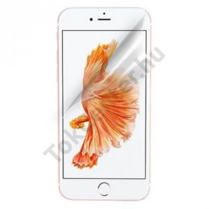 Apple iPhone 7 Plus /APPLE iPhone 8 Plus 5.5`` Képernyővédő fólia törlőkendővel (1 db-os, öntapadós PET, nem visszaszedhető, készülék íves részére NEM hajlik rá) CLEAR