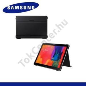 Samsung Galaxy Tab Pro 8.4 3G (SM-T321) Műanyag telefonvédő (FLIP, asztali tartó funkció) FEKETE