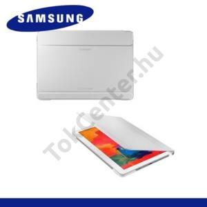 Samsung Galaxy Tab Pro 8.4 3G (SM-T321) Műanyag telefonvédő (FLIP, asztali tartó funkció) FEHÉR