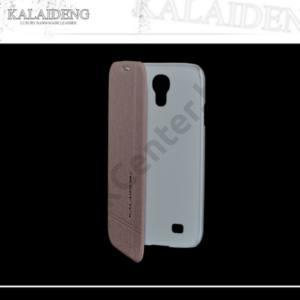 Samsung Galaxy S IV. (GT-I9500) KALAIDENG ICELAND tok álló, bőr (FLIP, oldalra nyíló) ARANY
