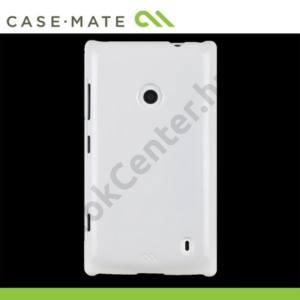 Nokia Lumia 520 CASE-MATE műanyag telefonvédő BARELY THERE - FEHÉR