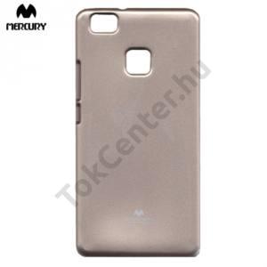 Huawei P9 lite MERCURY Goospery telefonvédő gumi / szilikon (csillámporos) ARANY