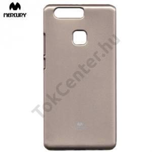 Huawei P9 Plus MERCURY Goospery telefonvédő gumi / szilikon (csillámporos) ARANY