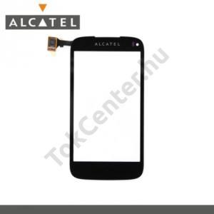 Alcatel OT-997D Plexi ablak, érintőpanellel FEKETE