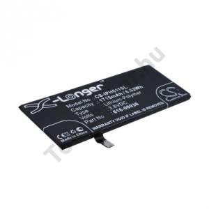 Apple iPhone 6S 4.7`` Akku 1715 mAh LI-Polymer (belső akku, beépítése szakértelmet igényel!, 616-00036 kompatibilis)