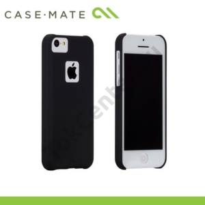 Apple iPhone 5C CASE-MATE műanyag telefonvédő BARELY THERE - FEKETE