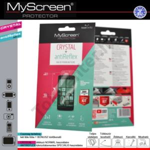 HTC Desire 200 Képernyővédő fólia törlőkendővel (2 féle típus) CRYSTAL áttetsző /ANTIREFLEX tükröződésmentes