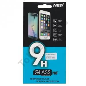 Huawei Honor 8 Képernyővédő fólia törlőkendővel (1 db-os, edzett üveg, karcálló, 0.33mm vékony, 9H) TEMPERED GLASS