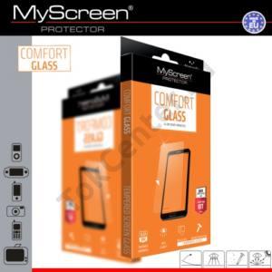Képernyővédő fólia törlőkendővel (1 db-os, edzett üveg, extra karcálló, ütésálló, 9H, 0.33mm vékony) COMFORT GLASS