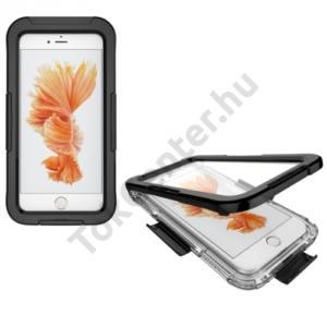 Apple iPhone 7 Plus 5.5 /Apple iPhone 8 Plus 5.5 Vízhatlan / vízálló tok, AQUA (10 méterig) FEKETE