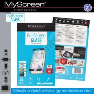 Huawei P9 Képernyővédő fólia (1 db-os, 3D full cover, íves, ultravékony előlap, edzett üveg, karcálló, 0.33 mm, 9H) FEKETE