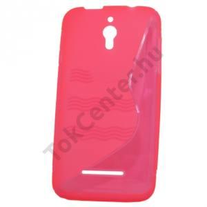 Vodafone Smart 4 Telefonvédő gumi / szilikon (S-line) RÓZSASZÍN