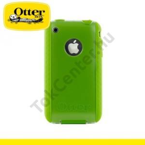 Apple iPhone 3G Műanyag telefonvédő COMMUTER Series (képernyővédő fólia, tisztítókendő) - ZÖLD