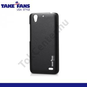 Huawei Ascend G630 TAKEFANS Colourful műanyag telefonvédő FEKETE