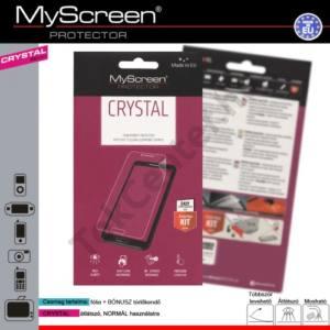 Alcatel OT-720 Képernyővédő fólia törlőkendővel (1 db-os) CRYSTAL áttetsző