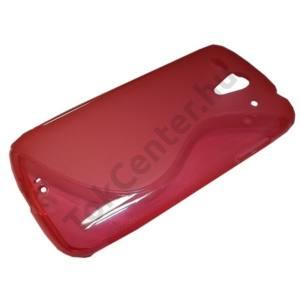 Huawei Ascend G300 (U8815) Telefonvédő gumi / szilikon (S-line) RÓZSASZÍN