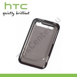 HTC Incredible S (S710e) Telefonvédő gumi / szilikon FEKETE