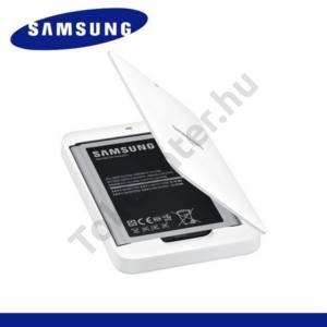 Samsung Galaxy Mega 6.3 (GT-I9200) Asztali töltő (3200 mAh LI-ION, EB-B700BE akkuval) FEHÉR