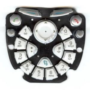 Nokia 3650 Készülék billentyűzet