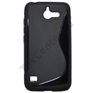 Huawei Ascend Y550 Telefonvédő gumi / szilikon (S-line) FEKETE