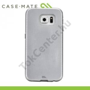 Samsung Galaxy S6 (SM-G920) CASE-MATE műanyag telefonvédő TOUGH PROTECTION - EZÜST