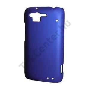 HTC Rhyme (Bliss Műanyag telefonvédő gumírozott KÉK