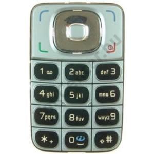 Nokia 6125 Készülék billentyűzet EZÜST