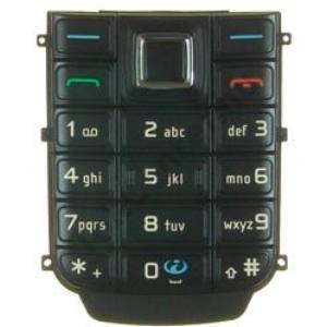 Nokia 6151 Készülék billentyűzet FEKETE