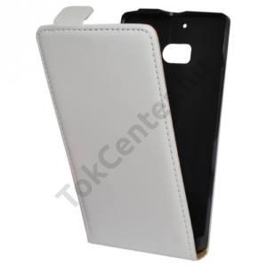 Nokia Lumia 929 Tok álló, bőr (FLIP, mágneses) FEHÉR