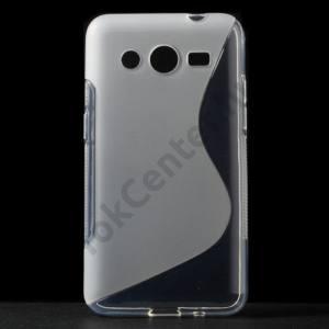 Samsung Galaxy Core 2 (SM-G355) Telefonvédő gumi / szilikon (S-line) ÁTLÁTSZÓ