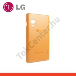 LG Optimus L5 II. (E460) Műanyag telefonvédő (ultra slim) NARANCS