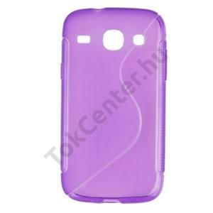 Samsung Galaxy Core (GT-I8260) Telefonvédő gumi / szilikon (S-line) LILA