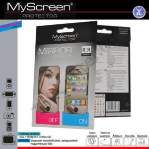 HTC One V (T320e) Képernyővédő fólia törlőkendővel (1 db-os) MIRROR SCREEN tükrös