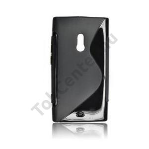 Alcatel Scribe HD (OT-8008) Telefonvédő gumi / szilikon (S-line) FEKETE