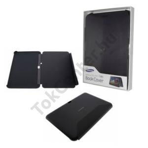 Samsung Galaxy Tab 7.0 Plus (P6200) Műanyag telefonvédő (bőr flip) FEKETE