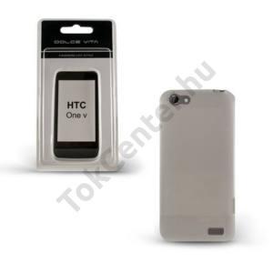 HTC One V (T320e) DOLCE VITA telefonvédő gumi / szilikon ÁTLÁTSZÓ