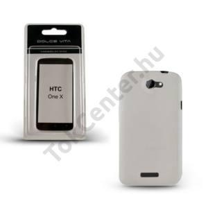 HTC One X (S720e) DOLCE VITA telefonvédő gumi / szilikon ÁTLÁTSZÓ