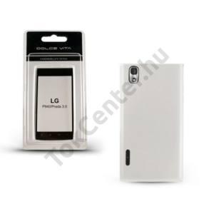 LG Prada 3.0 (P940) DOLCE VITA telefonvédő gumi / szilikon ÁTLÁTSZÓ