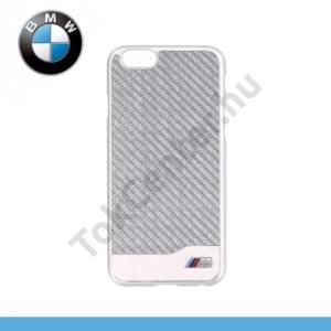 Apple iPhone 6 4.7`` BMW SIGNATURE műanyag telefonvédő (karbon minta) EZÜST