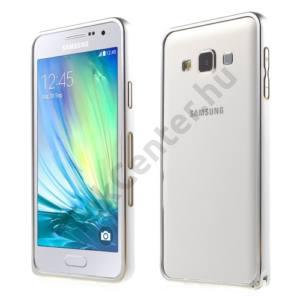 Samsung Galaxy A3 (SM-A300F) Telefonvédő alumínium keret (BUMPER) EZÜST