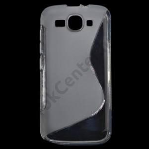 Huawei Ascend Y540  Telefonvédő gumi / szilikon (S-line) ÁTLÁTSZÓ