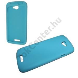 HTC One S (Z520e) Telefonvédő gumi / szilikon VILÁGOSKÉK